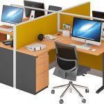 Jenis Meja Kantor Minimalis