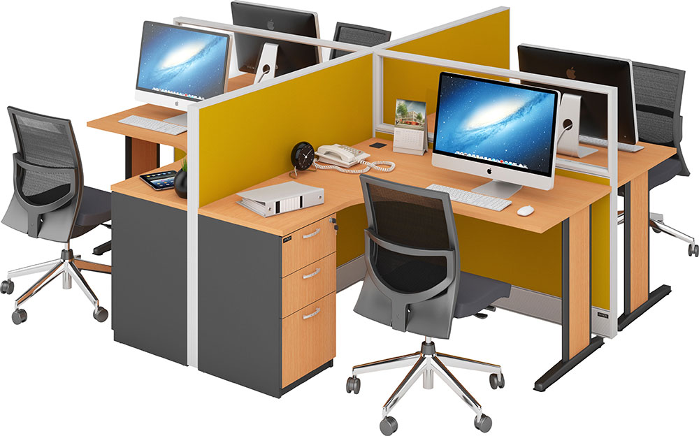 Jenis Meja Kantor Minimalis 7