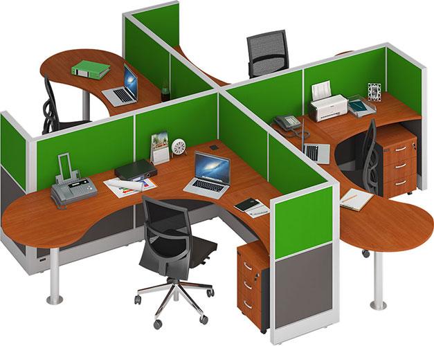 Jenis Meja Kantor Minimalis 4