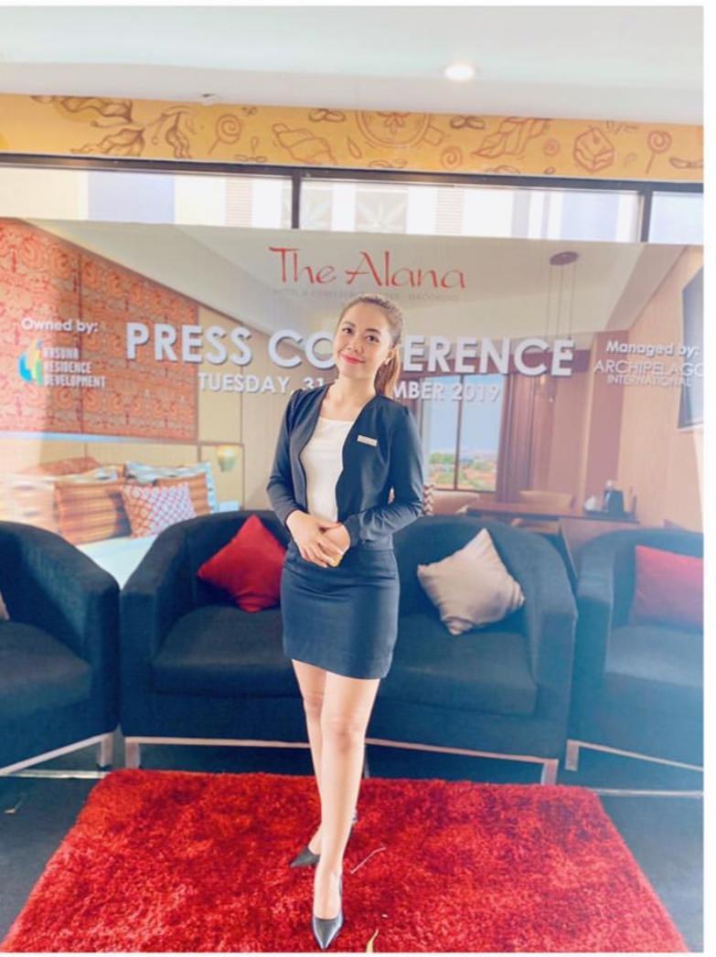 Raih Karir Dunia Perhotelan Ternyata Gadis ini Lulusan UBSI Yogya 1
