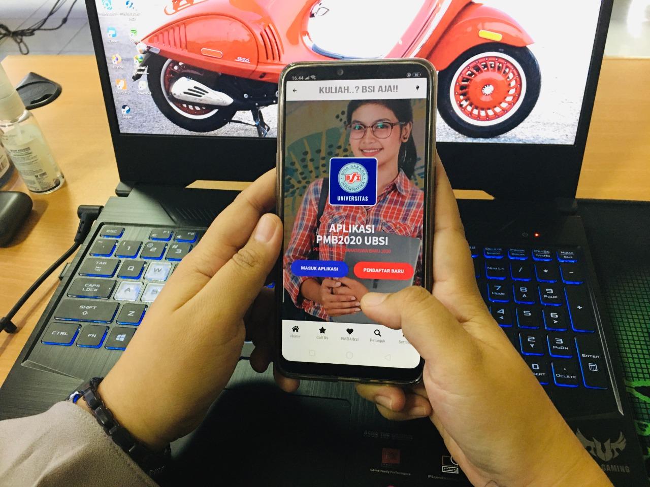 Daftar Kuliah Bisa Pakai Aplikasi Mobile, UBSI Beri Kemudahan Calon Mahasiswa. 2