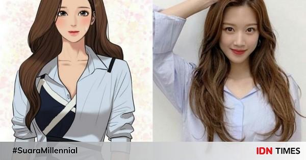 10 Transformasi Peran Moon Ga Young, Berubah Drastis di True Beauty 2