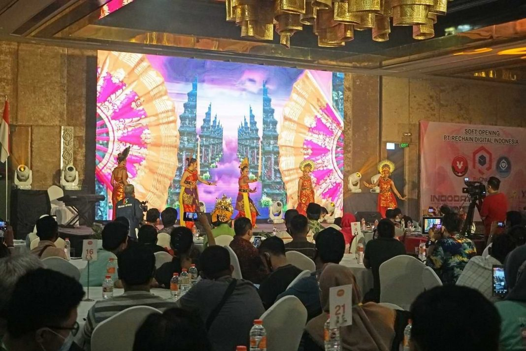Soft Opening Vidy PT Rechain Digital Indonesia Di Bali