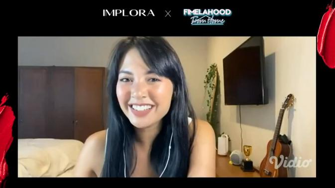 Fimelahood From Home x Implora: Sesi Online Beauty Class Seru Bareng Barry Ritonga dan Aurelie 2