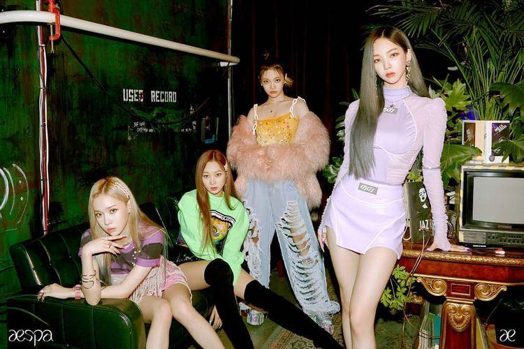 Jadi Girl Group Baru SM Entertainment, Aespa Resmi Debut Lewat Single 'Black Mamba' 2