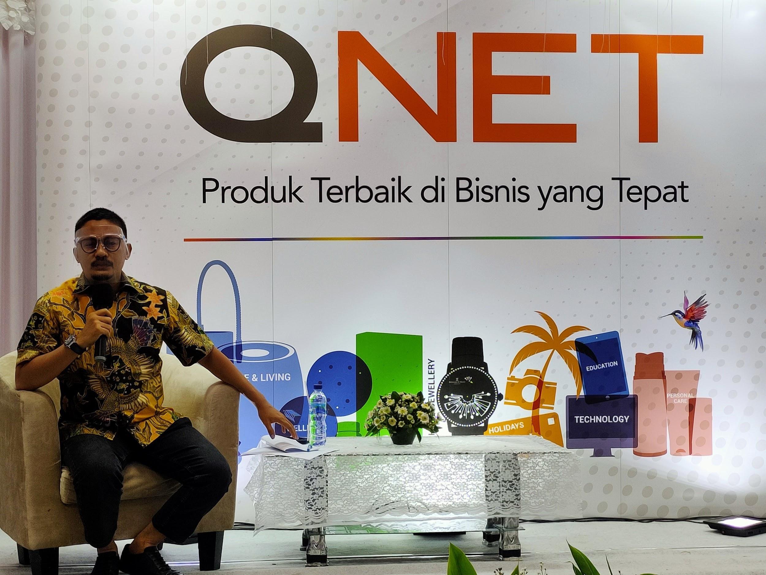 Qnet Produk terbaik di bisnis yang tepat