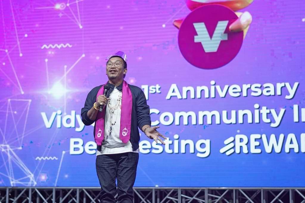 Keseruan dan Kemeriahan Puncak Perayaan Hari Jadi VidyCoin Community Indonesia yang Pertama di Nusa Dua, Bali