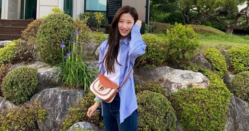 6 Gaya Simpel Moon Ga Young 'True Beauty' yang Memesona 2