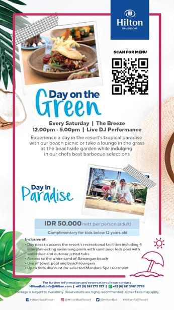 Liburan di Bali Bersama Candi, Nikmati Paket Promo Weekend Menarik dari Hilton Bali Resort 2