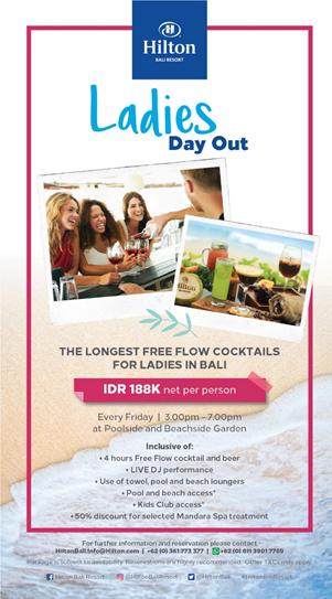 Liburan di Bali Bersama Candi, Nikmati Paket Promo Weekend Menarik dari Hilton Bali Resort 1