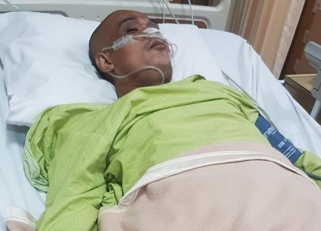 Hamil Tua, Istri Dilarang Menemani Komedian Sapri di Rumah Sakit 2