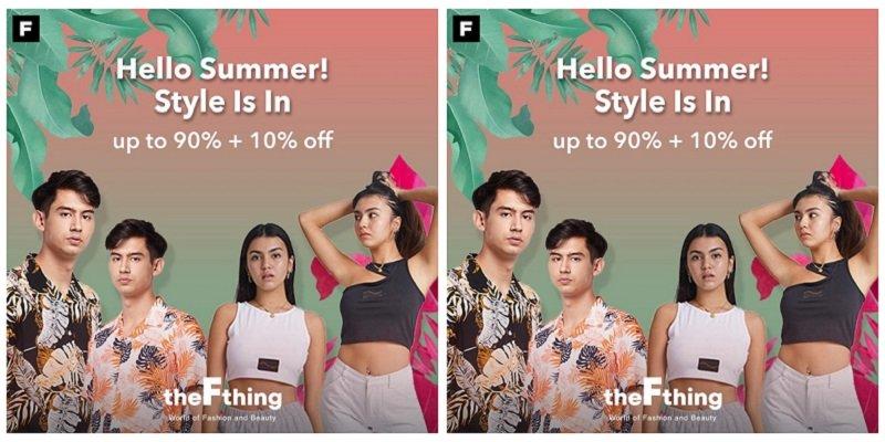 Cek Tips Fashion, Beauty dan Grooming dari The F Thing di Promo HELLO SUMMER! : Okezone Lifestyle 2