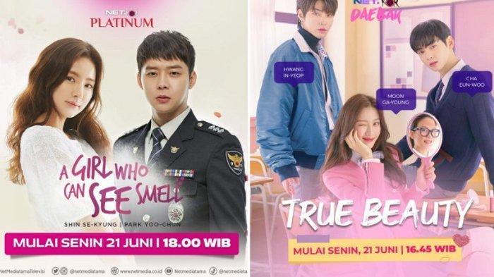Drama Korea ''True Beauty'' dan ''A Girl Who Can See Smell'' Tayang di Layar Kaca Indonesia 2
