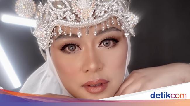 Transformasi Beauty Vlogge Tiru Makeup Akad Nikah Lesti Kejora, Ini Hasilnya 2